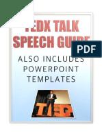 TEDx Talk Speech Guide