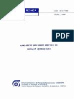Alguns Aspectos Sobre Roedores Domesticos e Seu Controle Em Construções Rurais - CT04