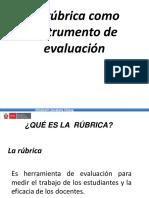 Rúbrica Como Instrumento de Evaluación