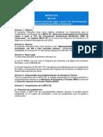 INSTRUCTIVO META 28 - AL 31 DIC 2018 - Ejecucion Presupuestal Al Mayor Al 75% Del PIM de Inversiones