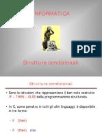 4 - Strutture condizionali