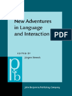 New Adventures in Language and Interaction