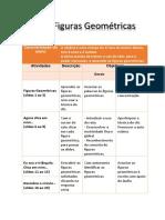 Planificação Do Projeto_Figuras Geométricas