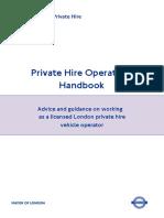 PHV Operators Handbook (July 2013)