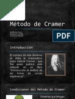 ALGEBRA - Metodo de Cramer