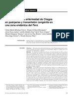 Prevalencia en puerperas e infeccion de chagas congenito en Peru.pdf
