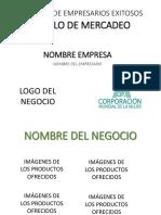 Presentación Final Módulo de Mercadeo CMM