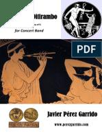 Marcha Del Ditirambo - j. Pérez Garrido