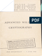 Advanced Military Cryptography