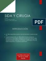 Sida y Cirugia