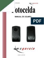 Manual Fotocelda