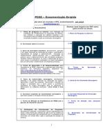 Instruções Bolsa PDSE (Check-list)