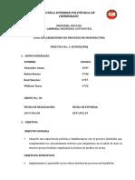 Práctica de Laboratorio Nº01 Fundicion