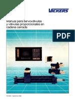 Manual para servovalvulas y valvulas proporcionales en cadena cerrada - VICKERS.pdf