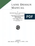 Airplane Design Manual by Teichmann
