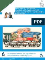 Pensiones Del Sistema de Capitalización Individual Del Régimen Contributivo...