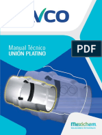 Manual Tuberia PVC Acueducto Union Platino