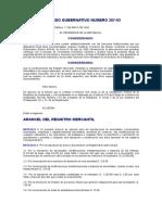 arancel registro mercantil 207-93.doc