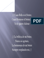 Cuan Bello es el Senor.pptx