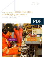 423-02 Guide to Preparing HSE Plans & Bridging Document