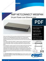 24Port PoE Midspan Flyer