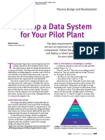 Develop a Data System for Pilot Plant_CEP_Oct 2016