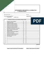 F-DIR-02 R3 Reporte de Mantenimiento Preventivo o Correctivo a Laboratorios