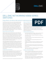 Dell Networking N3000 Series SpecSheet