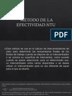 Método de La Efectividad-ntu