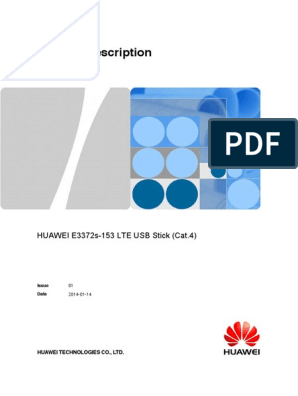 Huawei e3372 Datasheet Specifications | General Packet Radio Service