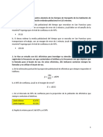2. Confidence Intervals. Exercises 1