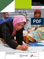 Village Law Indonesia Final PATTIRO IDS
