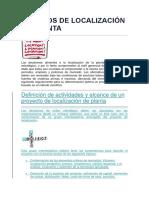 Métodos de Localización de Planta-exposicion Operativa