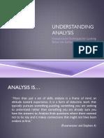 PPT Understanding Analysis