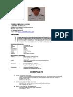 Exlusive Resume 2016