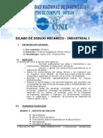 Silabo de Dibujo Mecanico - Industrial i[1]