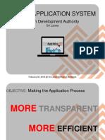 UDA Online Application System