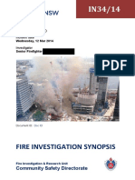 Fire Investigation Report Sample