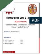 TRANSPORTE-VIAL Accidentabilidad Med Ambi