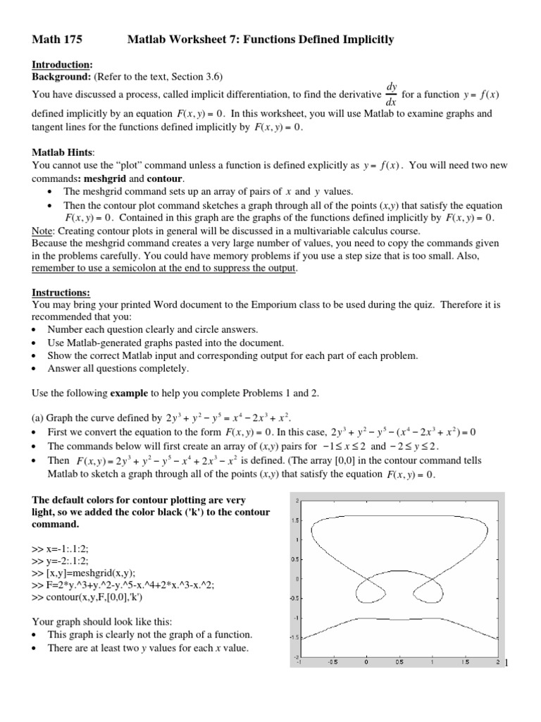 worksheet Implicit Differentiation Worksheet With Answers implicit fgv tangent theoretical physics