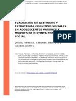 actitudes y estrategias cognitivas sociales