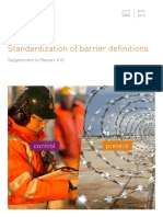 Barrier Definitions