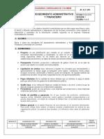 Af_n_p_001 Procedimiento Administrativa y Financiera