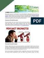 Obat Herbal Yang Berkhasiat Mengobati Penyakit Bronkitis
