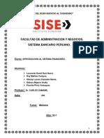 monografia sistema bancario