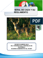 11. LEY GENERAL DE CAZA Y SU REGLAMENTO.pdf