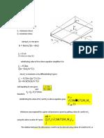 Design Sheet for Biaxial Bending