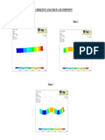 Exp 6 Modal Frequency Analysis of a 2d Component