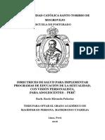 TM_MirandaPalaciosRocio... Directrices de Salud Para Implementar Programas de Educación de La Sexualidad, Con Visión Personalista Para Adolescentes -Peru
