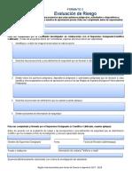 Formato 3 Evaluacion de Riesgo